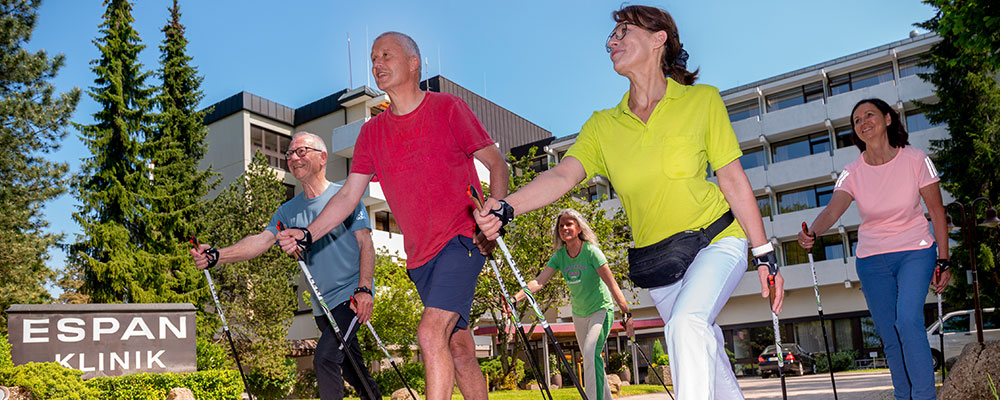 Physiotherapie - Nordic Walking